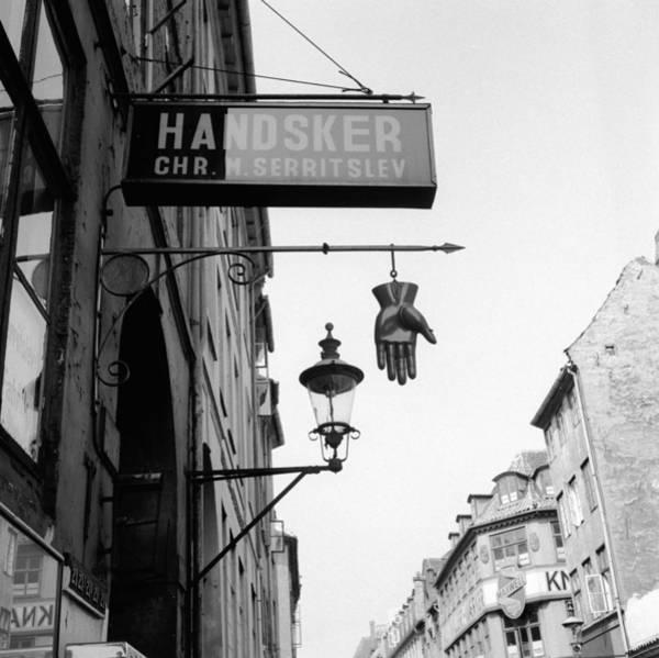 Clothing Store Photograph - Danish Glovemaker by Vecchio