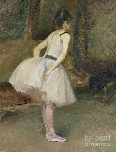 Wall Art - Painting - Danseuse, 1888 by Henri de Toulouse-Lautrec
