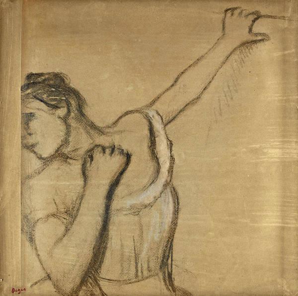 Drawing - Danseuse. Buste by Edgar Degas