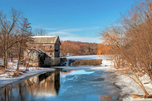 Photograph - Danville Mill Pond by Todd Klassy