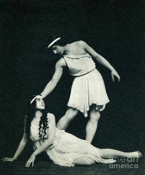 Wall Art - Photograph - Daphnis Et Chloe, Ballet Composed By Ravel by Unknown