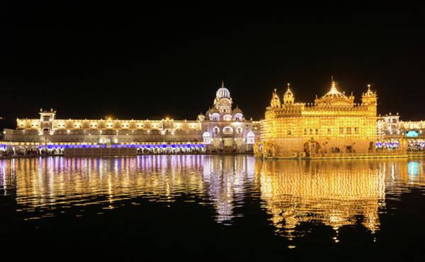 Photograph - Darbar Sahib Amritsar by Gary Gillette