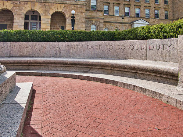 Photograph - dare to do our duty - Madison -Wisconsin by Steven Ralser