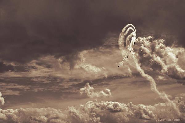 Aerobatics Wall Art - Photograph - Daredevilry by Joseph Westrupp