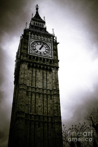 Dark Big Ben Art Print