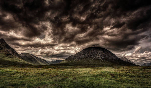 Wall Art - Photograph - Dark Clouds Over Scotland by Pixabay