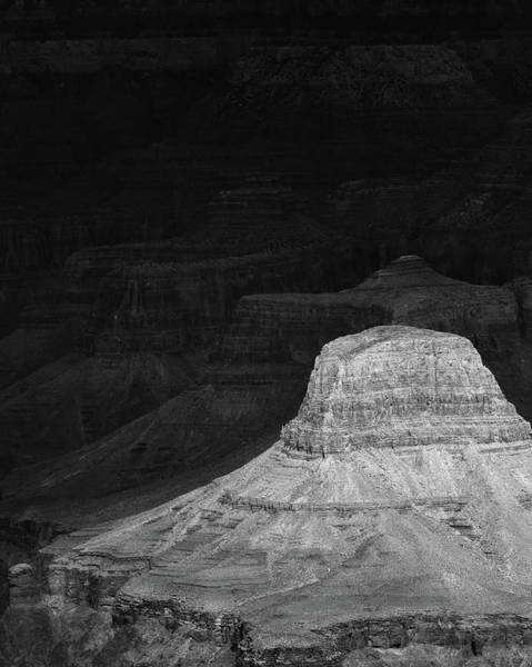 Dark Grand Canyon Art Print