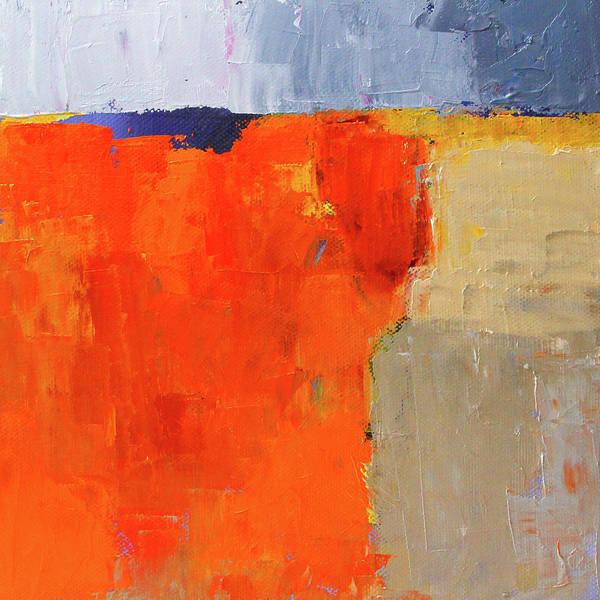 Wall Art - Painting - Dark Horizon by Nancy Merkle