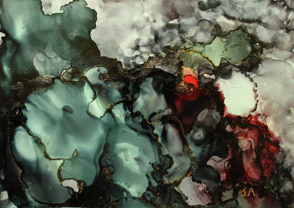 Painting - Dark Place I by Jenny Armitage