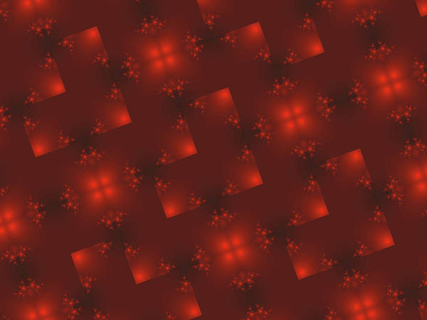 Wall Art - Digital Art - Dark Red Holiday Background by Rich Leighton