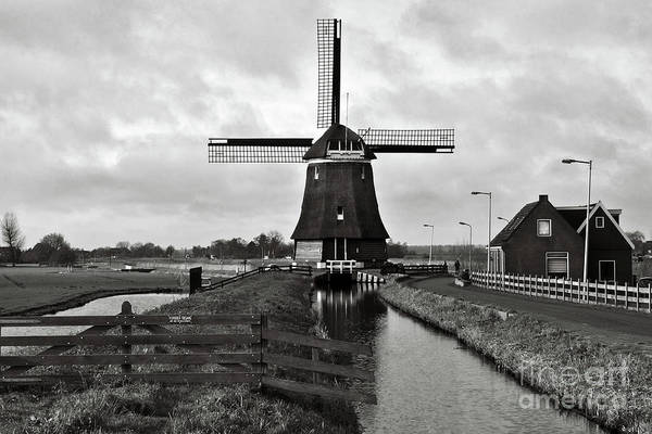 Photograph - Dark Wind Mill Sound by Silva Wischeropp