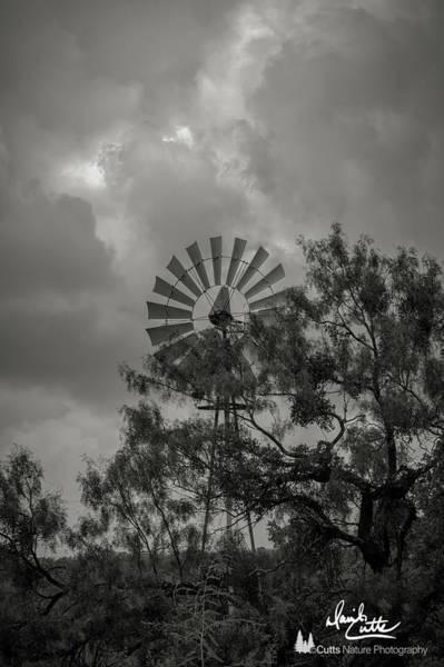 Photograph - Dark Windmill by David Cutts
