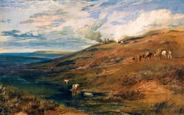 Transporter Wall Art - Painting - Dartmoor - Digital Remastered Edition by William Turner