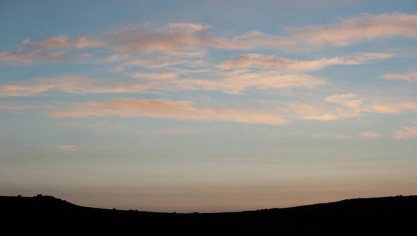 Photograph - Dartmoor Sunset by Helen Northcott