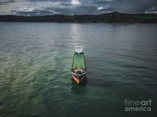Photograph - Das Boat by Martin Bartnicki