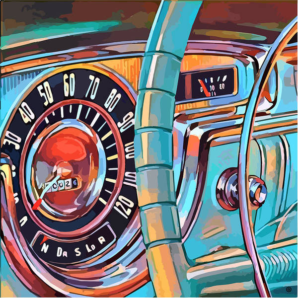 Digital Art - Dashboard by Gary Grayson
