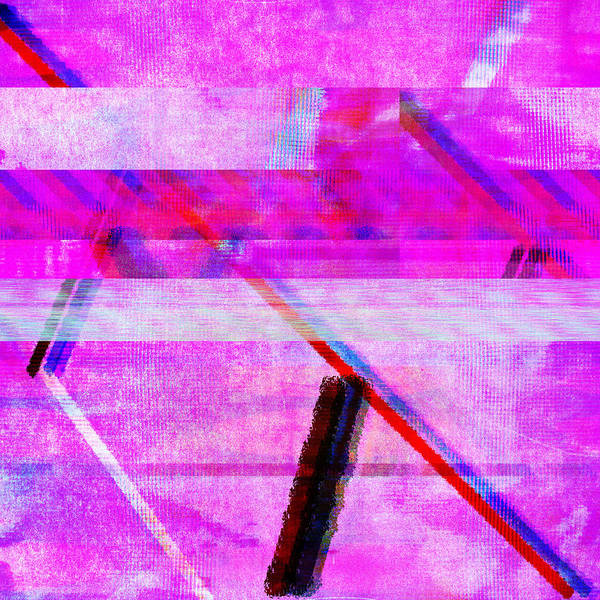 Digital Art - Databending #1 by Bee-Bee Deigner