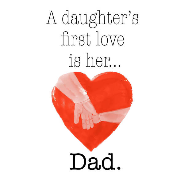 Daughter Digital Art - Daughters First Love by Sd Graphics Studio