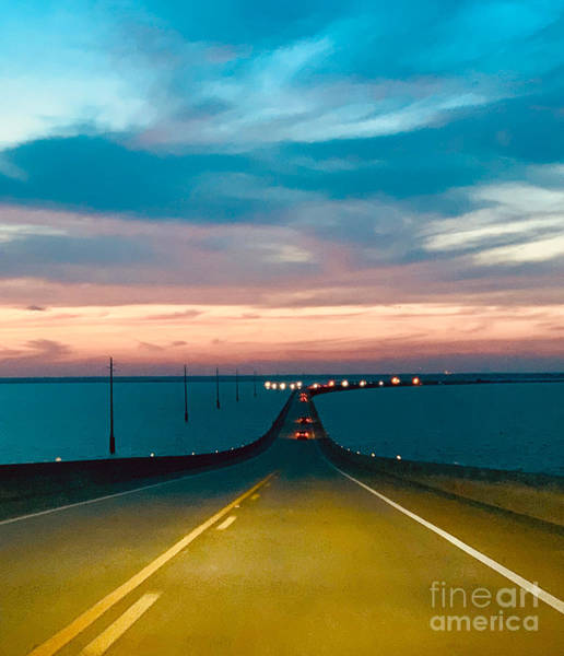 Photograph - Dauphin Island Bridge-1 by James Hennis