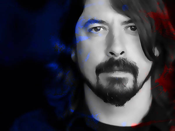 Wall Art - Mixed Media - Dave Grohl by Marvin Blaine