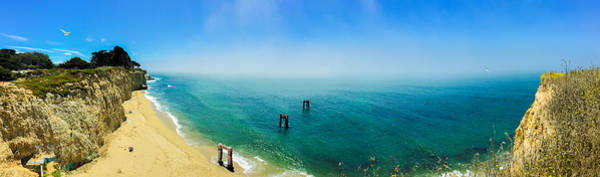 Wall Art - Photograph - Davenport Abandoned Pier Panorama by Christina Ford