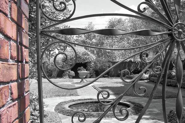 Photograph - Davenport Courtyard by JAMART Photography