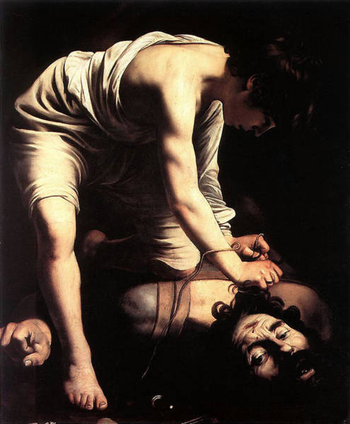Painting - David And Goliath  by Michelangelo Caravaggio