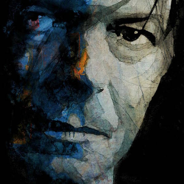 Wall Art - Mixed Media - David Bowie _ Chameleon by Paul Lovering