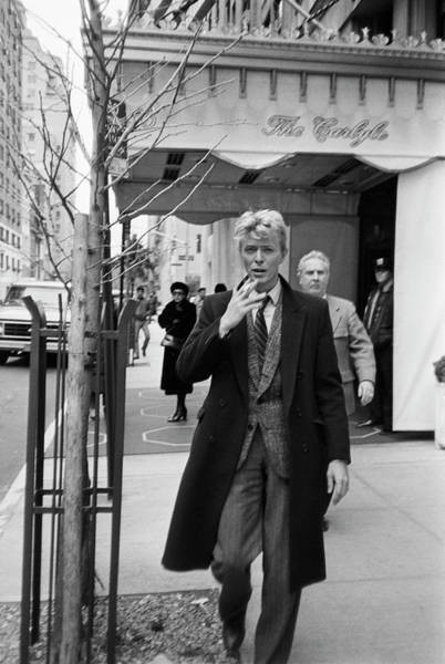 Archival Photograph - David Bowie by Art Zelin