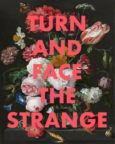 Digital Art - David Bowie Changes Print by Georgia Fowler