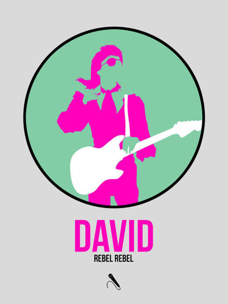 Hard Rock Wall Art - Digital Art - David Bowie by Naxart Studio