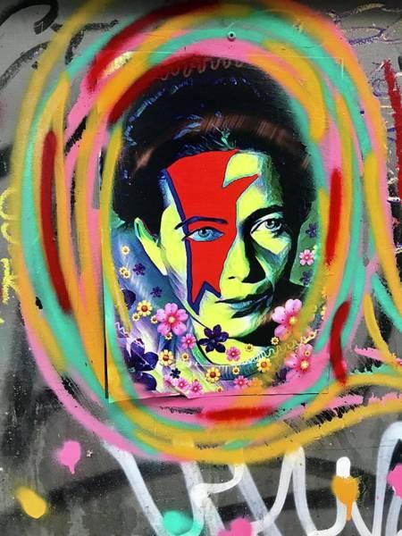 Wall Art - Photograph - David Bowie Signature by Funkpix Photo Hunter