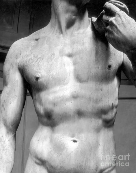 Wall Art - Sculpture - David Detail Marble by Michelangelo