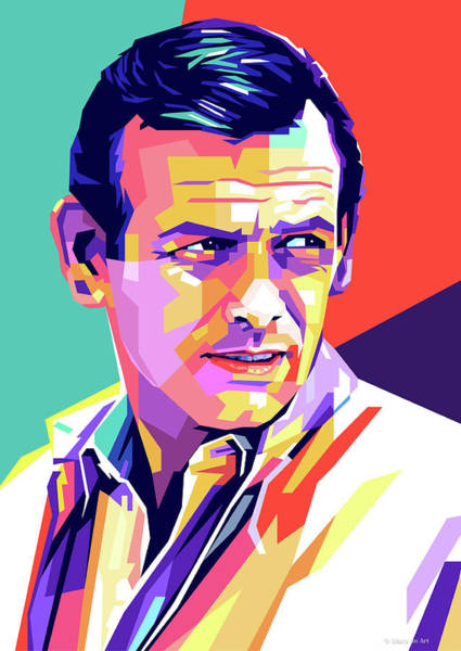 Wall Art - Digital Art - David Janssen Pop Art by Stars-on- Art