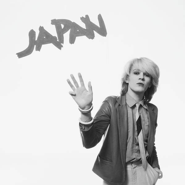 New Wave Music Photograph - David Sylvian Of Japan by Fin Costello