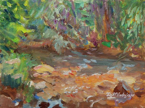 Painting - Davidson River Colors by Lisa Blackshear