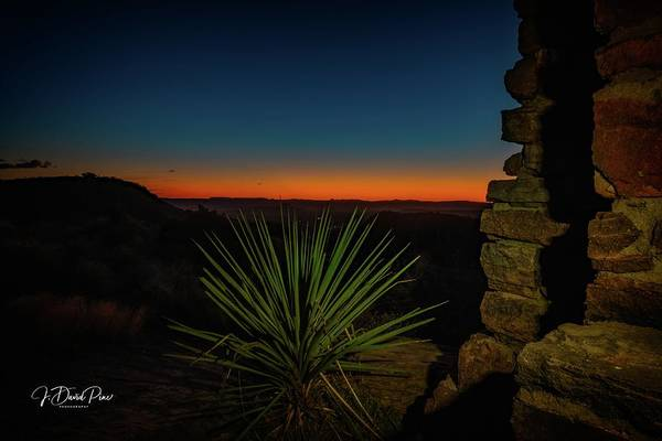 Photograph - Davis Mountains Sunrise by David Pine