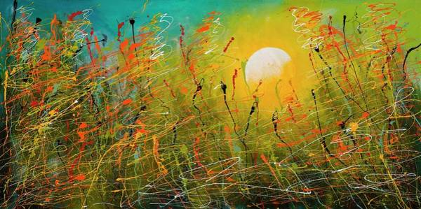 Painting - Dawn, 2006 Mixed Media On Canvas by Milton Morales