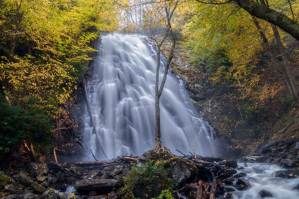 Photograph - Dawn At Crabtree Falls by Mike Koenig
