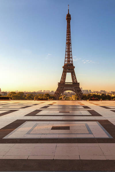 Wall Art - Photograph - Dawn At Eiffel by Andrew Soundarajan
