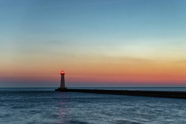 Photograph - Dawn At Sodus Point by Rod Best