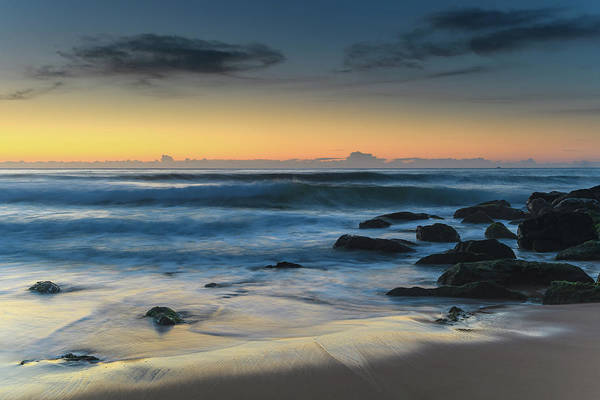 Killcare Photograph - Dawn At The Seaside Seascape by Merrillie Redden