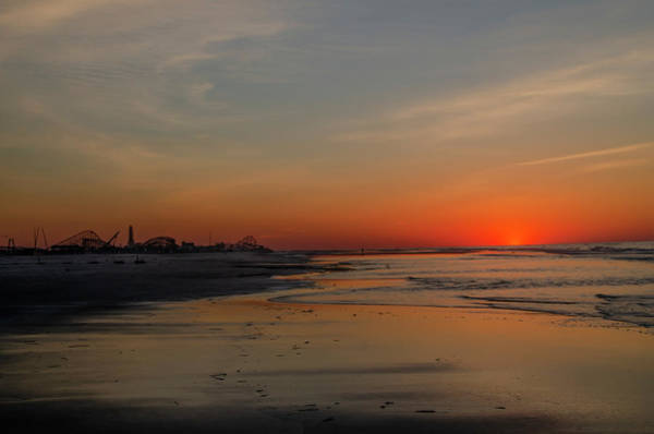 Photograph - Dawn At The Shore - Wildwood New Jersey by Bill Cannon