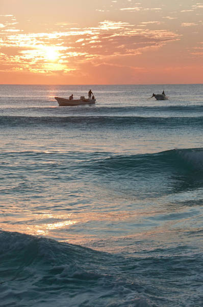 Dawn Photograph - Dawn Fishing Boats by Brettcharlton