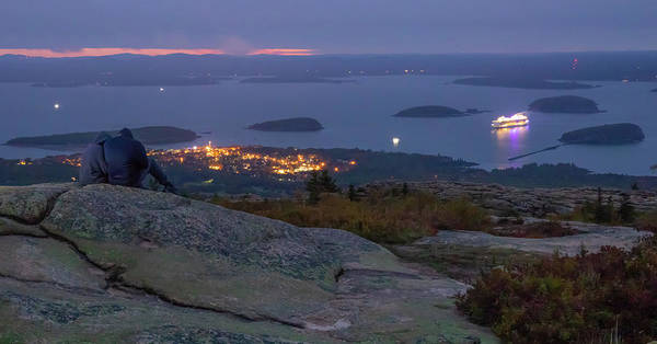 Photograph - Dawn From Cadillac Mountain by Dan Sproul