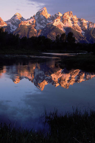 Wall Art - Photograph - Dawn, Grand Tetons, Wy by Gail Dohrmann