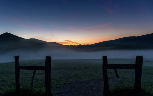 Photograph - Dawn In Cades Cove Tennessee by Dan Sproul