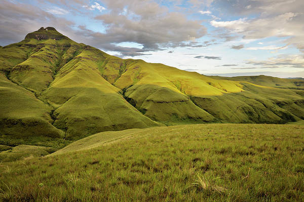 Dawn Photograph - Dawn Light On Drakensberg Mountain by Emil Von Maltitz