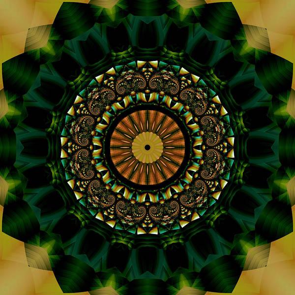 Algorithm Digital Art - Dawn Of A Magical Day by Jipsi Immanuelle