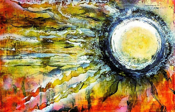 Painting - Dawn Of A New Sun by 'REA' Gallery